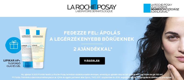 La Roche-Posay W40 GWP Lipikar olej 100ml+Lipikar Syndet 100ml