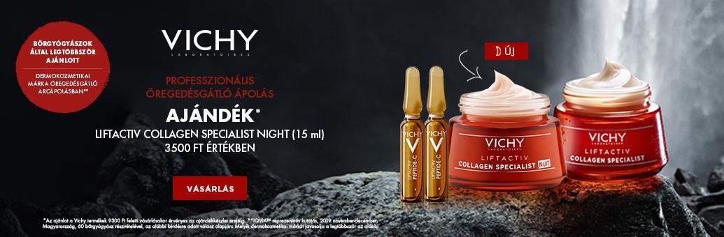 Vichy W49 GWP nad 690,- Collagen Specialist Nuit
