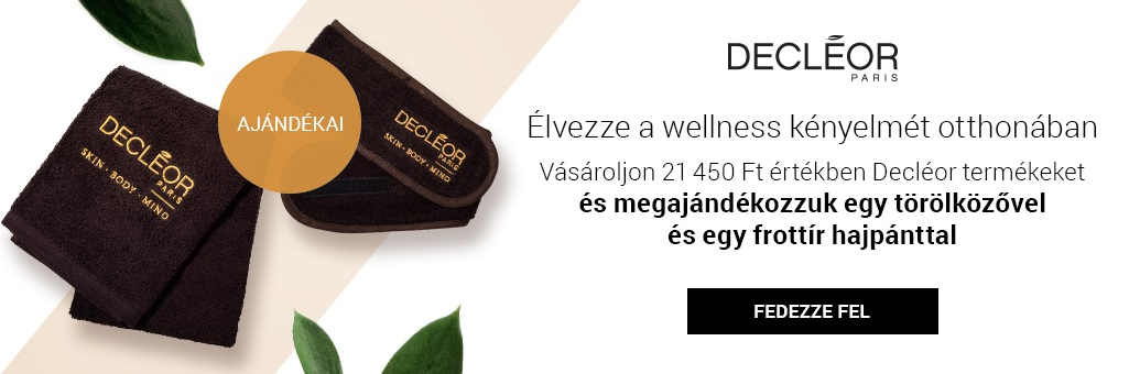 W8 Decleor wellness dárky