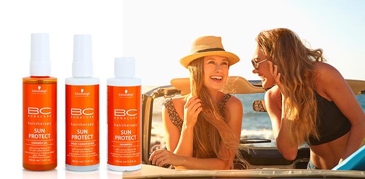 BC Bonacure protection solaire cheveux