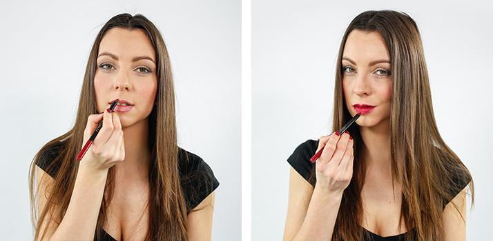 delineador de labios