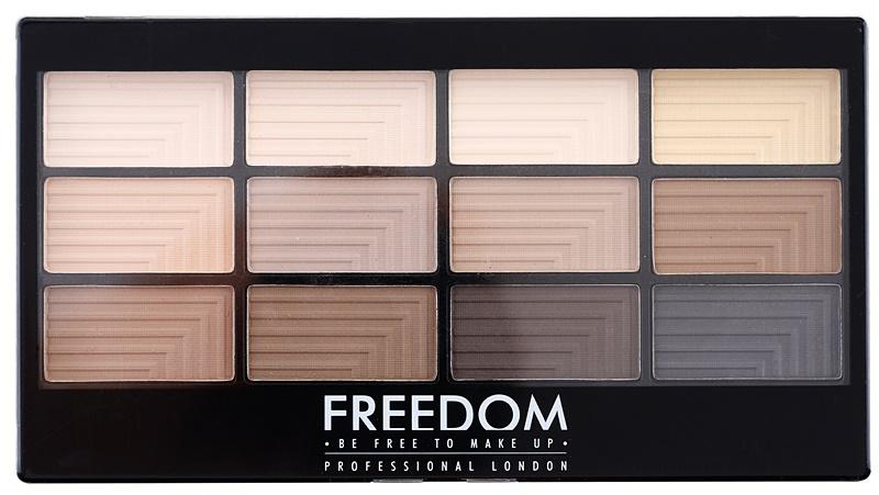 paletka matowych cieni freedom