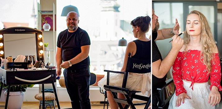líčenie PauliBeauty s kozmetikou Yves Saint Laurent