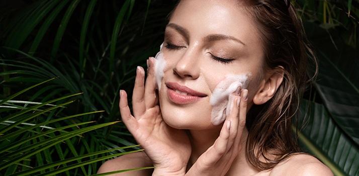 pianki do mycia twarzy