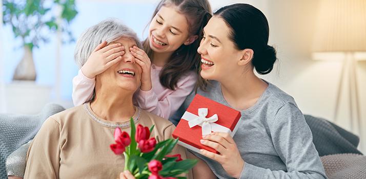prezenty na Dzien Matki