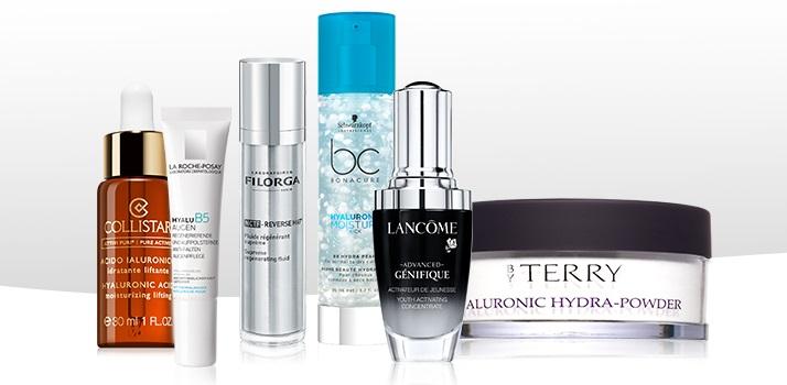 Kozmetika s kyselinou hyalurónovou
