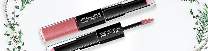 dlhotrvajúci rúž a lesk na pery L'Oréal Paris Infallible