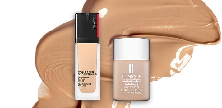 clinique-anti-blemish-solutions-shiseido-synchro-skin-self-refreshing-foundation
