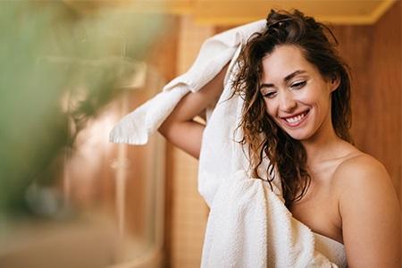 Haarpflege in drei einfachen Schritten