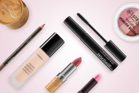 Natürliche dekorative Kosmetik – einfaches Make-up ohne synthetische Inhaltsstoffe