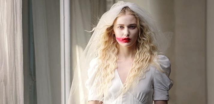 Desconto Halloween Branco Preto   2020 Vestido De Casamento