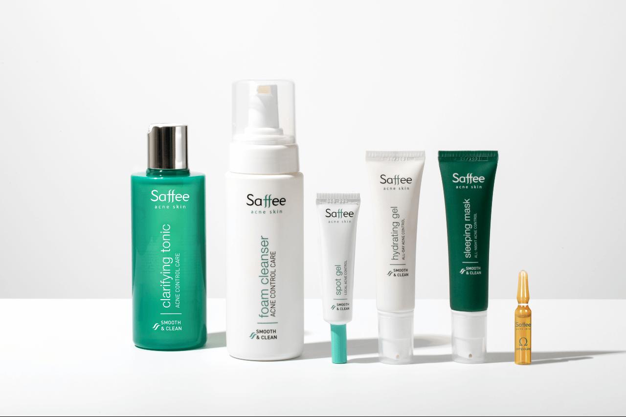 Saffee Acne Skin – ajuda a combater a «mascne»