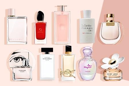 Meilleur parfum femme : le top 10 des senteurs féminines