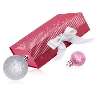 Geschenkverpackuing weiß