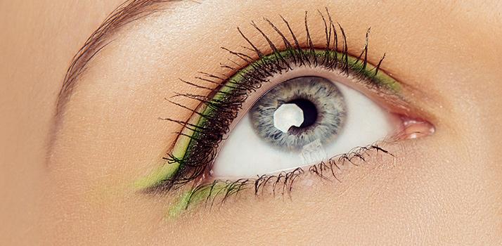 eyeliner e ombretto