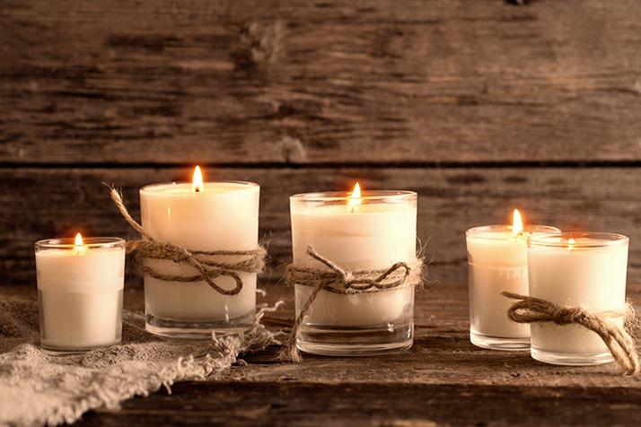 ароматизовані свічки ідеальні для домівок