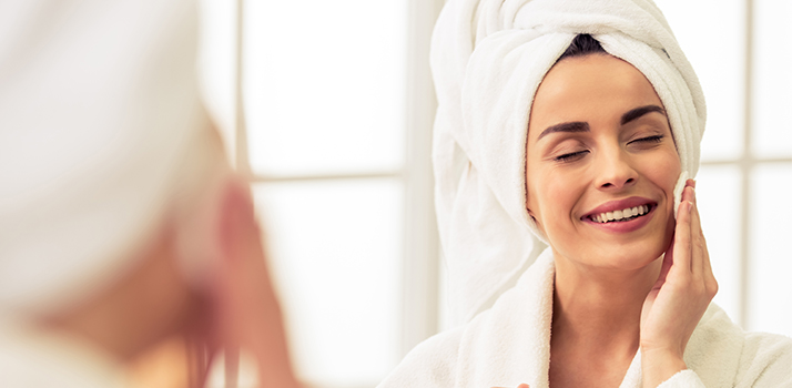 Rutina de limpieza facial diaria