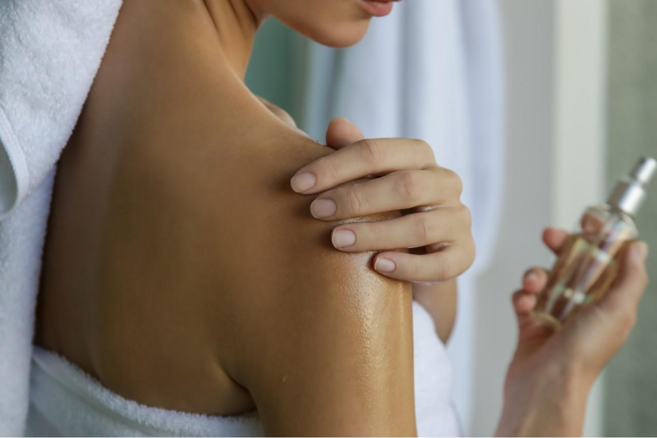 Återfukta huden med kroppsoljor (även) på vintern
