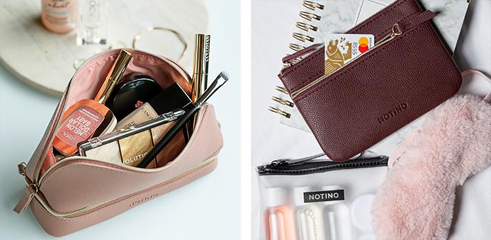 Geanta de cosmetice pentru vacanțe, Notino și geanta de cosmetice, Vacanța cu Notino