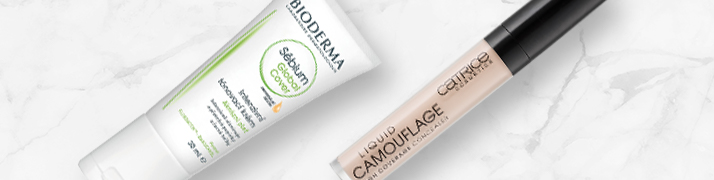Bioderma Sébium Global Cover Catrice Camouflage