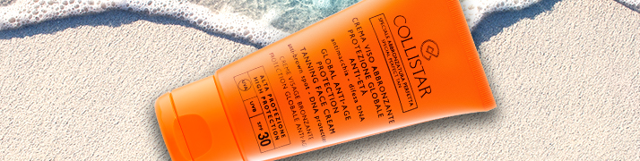 Protecția solară, Notino oferă creme pentru protecția solară
