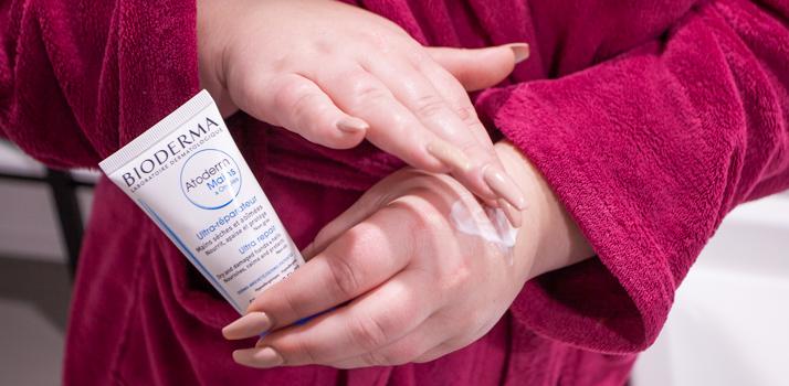 Bioderma Atoderm krém na ruky pre veľmi suchú citlivú a atopickú pokožku