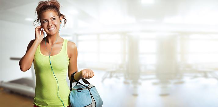 Cosmetici per la borsa da fitness