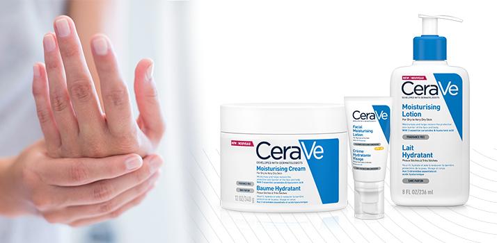 hydratačná telová starostlivosť CeraVe