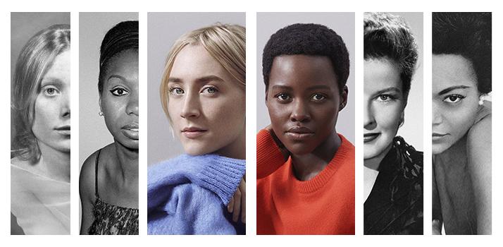 tváre kampane k novej vôni Calvin Klein Women