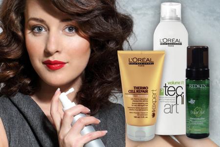 styling haj formázás termékek