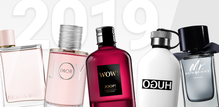 najlepšie dámske a pánske parfémy za rok 2019