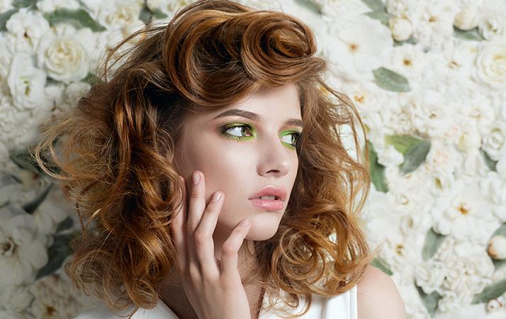 Lidschatten, Eyeshadow, greenery, Make-up