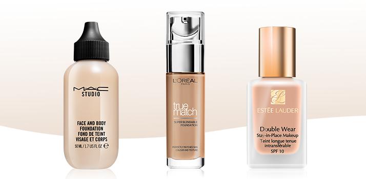 tekuté make-upy MAC, L'Oréal Paris a Estée Lauder