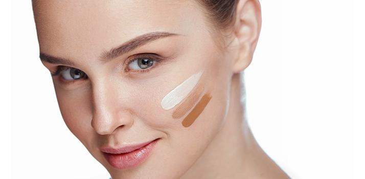 ako si vybrať správny odtieň make-upu
