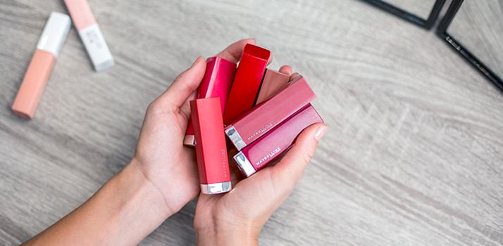 dekoratívna kozmetika Maybelline a inšpirácia na instagramový look