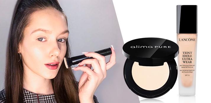 makeup ako základ líčenia pre modré oči