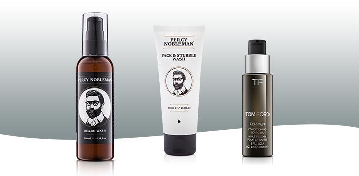 kozmetika pre mužov na starostlivosť o fúzy a bradu