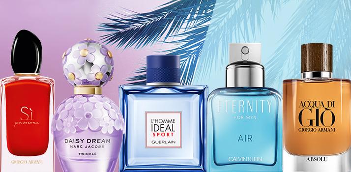 najlepšie vône a parfémové novinky na leto