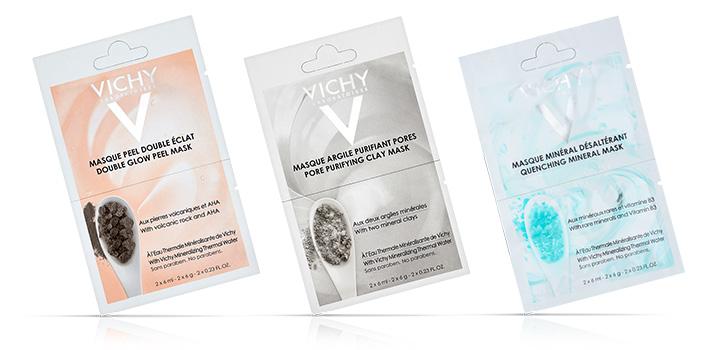 Vichy Mineral Masks