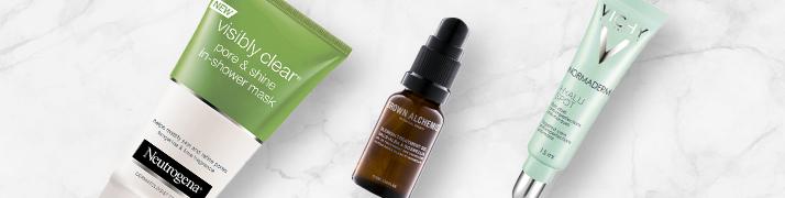 Produse pentru tenu acneic, Notino și produse pentru acnee