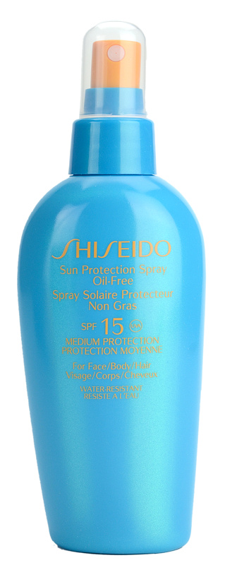 shiseido sun spray