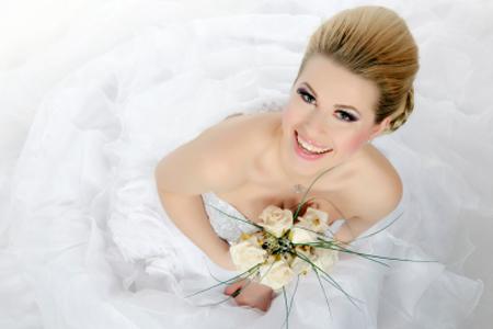 Kozmetična priprava za poročni dan