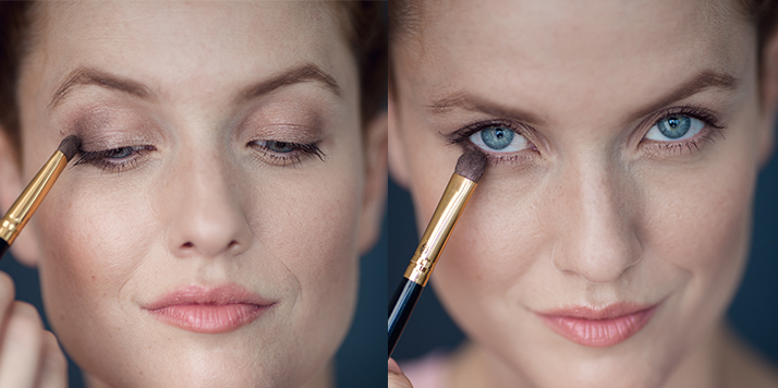 eyeliner en pointillés