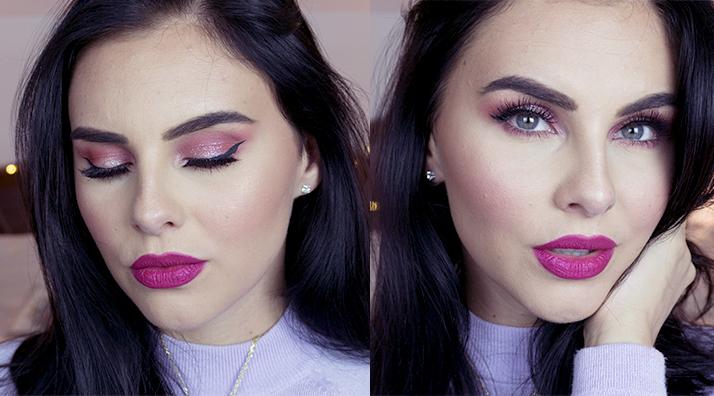 valentínsky makeup tutoriál