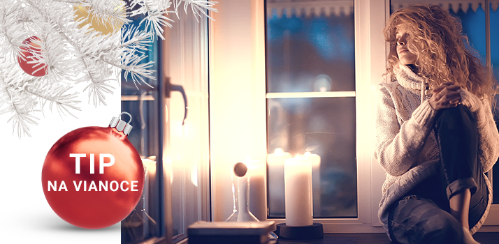 vonné sviečky ako tip na vianočný darček