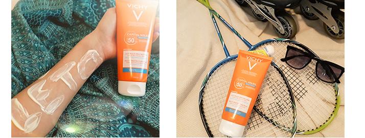 crème solaire indice 50 Vichy