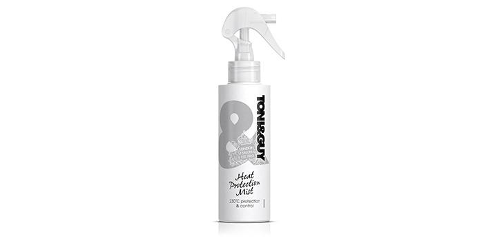 TONI&GUY Prep Spray zum Schutz der Haare bei Hitzebehandlung