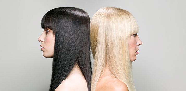 Nega barvanih las