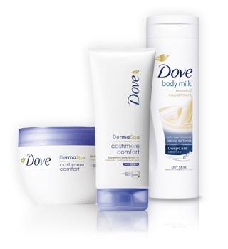 Dove Sprcha a kúpeľ pre ženy