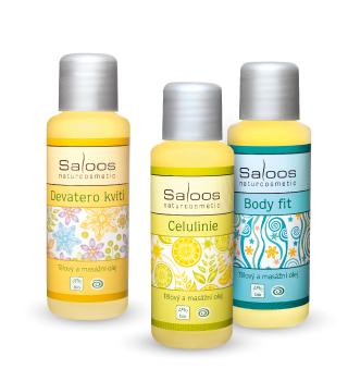 Masážní olej Saloos